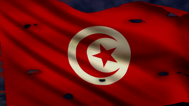 Flag of Tunisia, struggle for freedom video