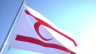 Flag of Turkish Republic of Northern Cyprus video