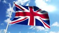 flag of United Kingdom video