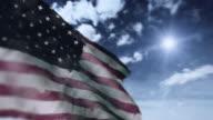 Flag of USA video