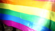 LGBT flag Rainbow fleg video