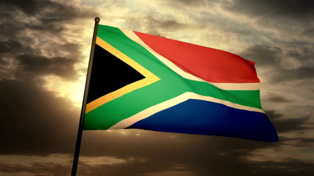 Flag South Africa video