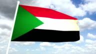 Flag Sudan video