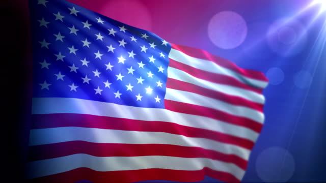Flag USA video