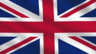 UK Flag video