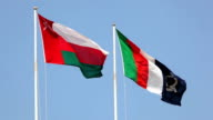Flags of Oman video