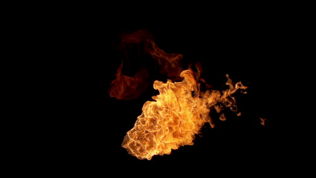 Flame Thrower Slow Motion video