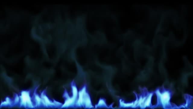 Flame With Smoke video