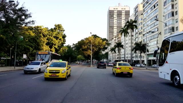 Flamengo Beach Avenue in Rio de Janeiro video