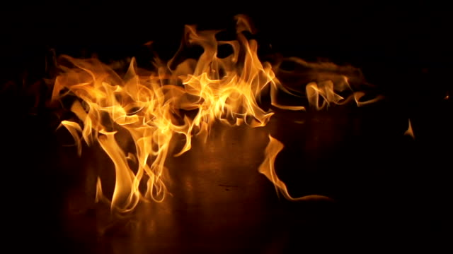 Flames Slow Motion video