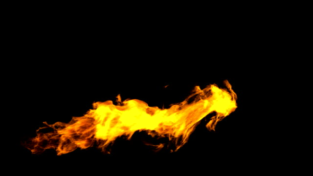 Flamethrower video