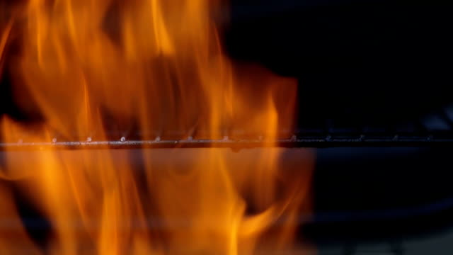 Flaming coal - Stock Footage video