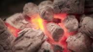 Flaming coal video