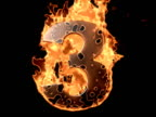 Flaming Countdown video