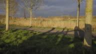 flanders in Belgium countryside video