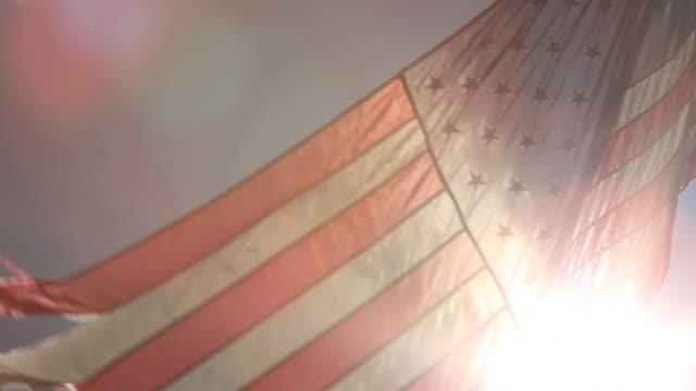 Flared Flag video