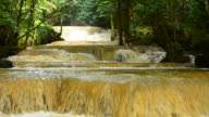 Flash Flood Waterfall in the Forests video