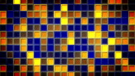 flashing blue yellow squares loopable background video
