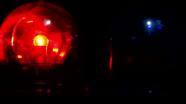 Flashing Emergency Light video