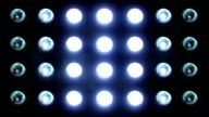 Flashing Floodlights Blue video