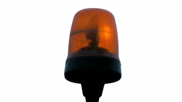 Flashing light video