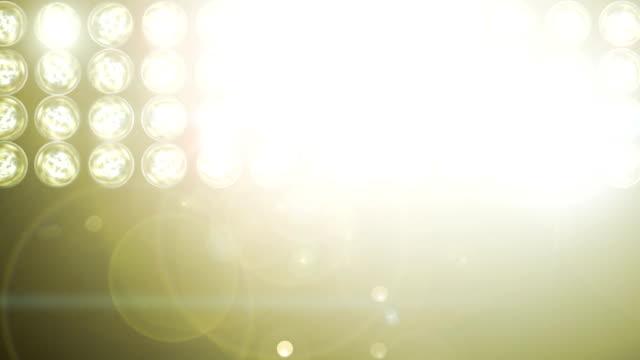 Flashing lights video