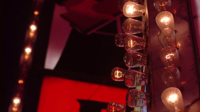 Flashing Marquis Lights, Closeup video
