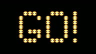 HD: Flashing Word GO video