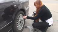 Flat Tire video