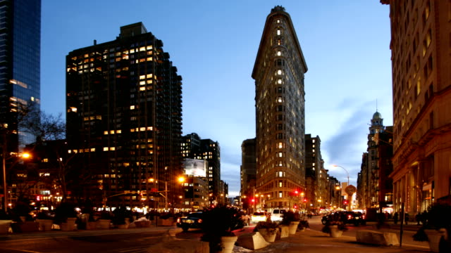 FlatIron Building - Day to Night video