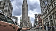 Flatiron Building in New York video