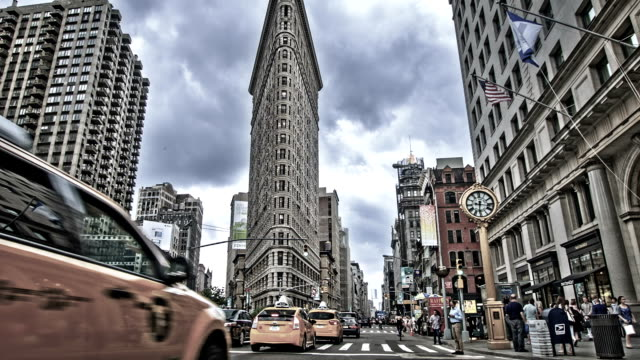 Flatiron Building in New York video