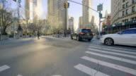 Flatiron Building New York City establishing shot video