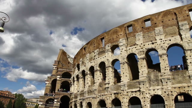 Flavian Amphitheater Coliseum of Rome HD Video video