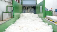 Fleece for use in Textile Factory video