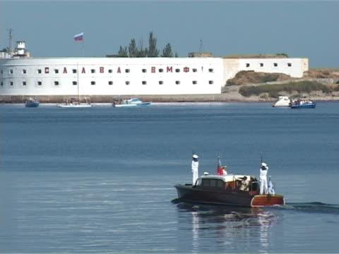 Fleet Commander Admiral's boat video