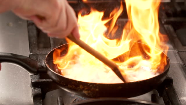 Flembe cooking video