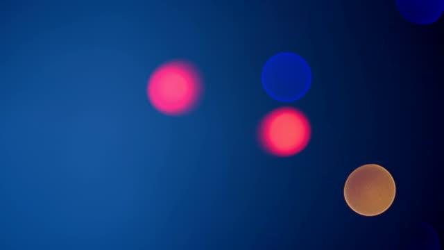 Flickering defocused lights (Loopable) video