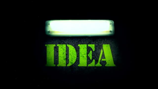 IDEA Flickering Fluorescent Light video