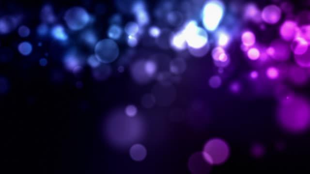 Flickering Particles Loop - Blue Pink (HD) video