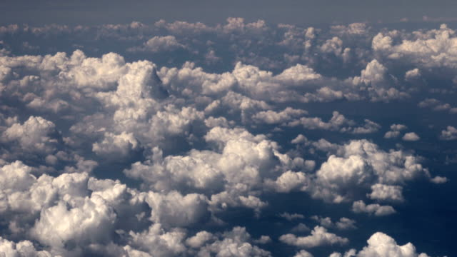 HD - Flight above the clouds video