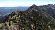 Flight Along Ridge In Crazy Mountains  - Aerial View - Montana, Gallatin County, United States video