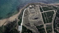 Flight And Reveal the Acropolis At Selinunte  - Aerial View - Sicily, Province of Trapani, Castelvetrano, Italy video