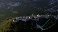 Flight Circling Beseno Castle  - Aerial View - Trentino-Alto Adige, Trento, Besenello, Italy video