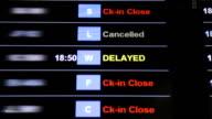 Flight delayed video