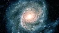 Flight Into Spiral Galaxy video