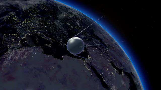 Flight of Sputnik video