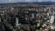Flight Over Belo Horizonte  - Aerial View - Minas Gerais, Belo Horizonte, Brazil video