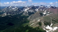 Flight Over Flathead National Forest  - Aerial View - Montana, Flathead County, United States video