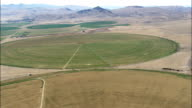 Flight Over Hills To Grasshopper Creek  - Aerial View - Montana,  Beaverhead County,  helicopter filming,  aerial video,  cineflex,  establishing shot,  United States video
